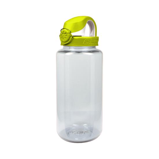 Clear w / iguana green lid
